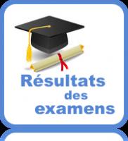 Résultats des examens